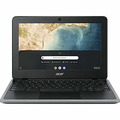 Acer Chromebook 311 (32GB, 4GB RAM) 11.6' HD IPS Touchscreen LED-Backlight, Intel Celeron N4020, Chrome OS W/ US Warranty (64GB SD Bundle, Shale Black)
