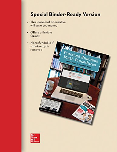 Practical Business Math Procedures Brief with Handbook and DVD