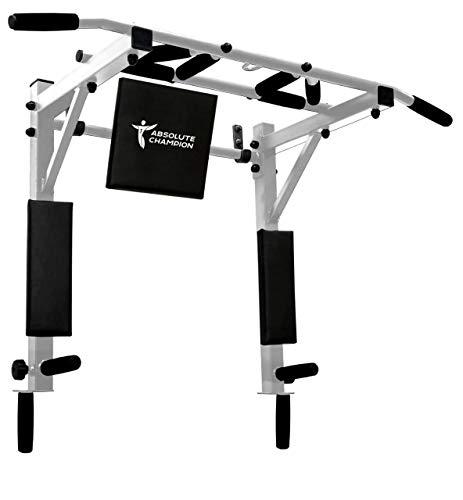 Untitled STM–Sport | Klimmzugstange Profi Multigrip Bis Zu 250 Kg | Pull Up Bar/Chin Up Bar | Multifunktional | Dip Station | Heim Gym | Für zuhause | Workout Equipment | Sportgerät | Fitness Geräte