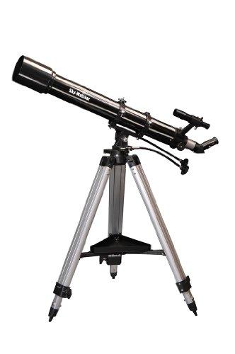 Skywatcher Evostar-90 (AZ-3) (90mm (3,5 Zoll), f/900) Refraktor Teleskop Silber