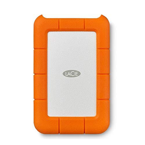 LaCie Rugged Secure, 2 TB, Hard Disk Esterno, 2 anni di servizi Rescue (STFR2000403)