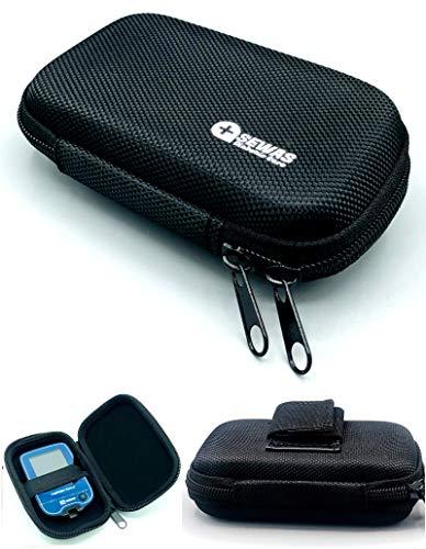 Tasche Hardcase für Freestyle Libre Messgerät 1 & 2, Gürteltasche Blutzuckermessgerät, Diabetikertasche ZENXEAY