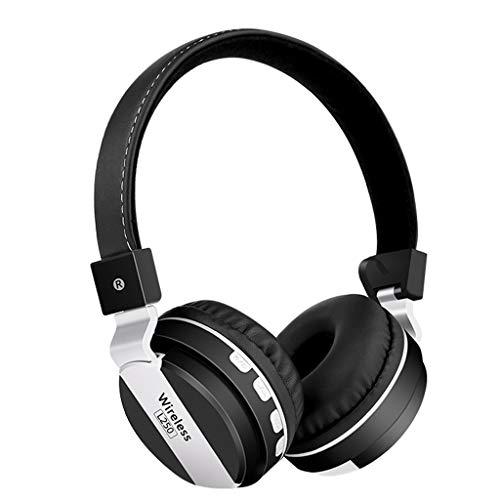 On-Ear Bluetooth-Kopfhörer , Kabellose Ohrhörer mit integriertem Headset mit Mikrofon,10H Stunden Spielzeit,Erstklassiger Sound Stereo Sound,Geräuschunterdrückung Bluetooth Kopfhörer Sport Headset