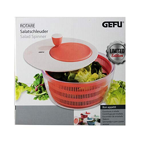 GEFU 89454 Salatschleuder ROTARE, Apricot