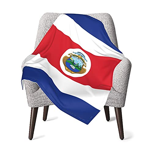 VVSADEB Costa Rica Flag Baby Blanket, Swaddle Blankets, Soft Warm Newborn...
