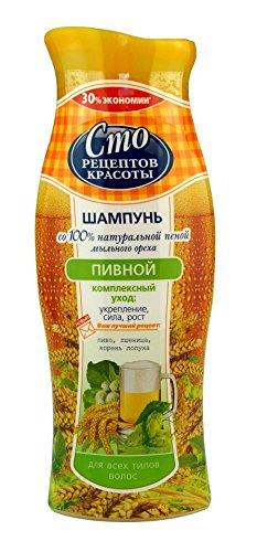 Shampoo 100 Rezepten der Schönheit Waschnüsse - ab 30 Jahren Haarwachstum Сто рецептов красоты 380 ml