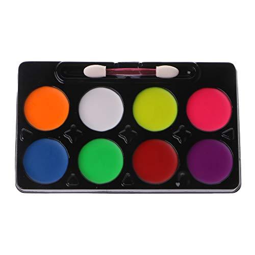 Unfair 6/8 Pintura De Los Colores Paleta para El Conjunto del Cuerpo,...