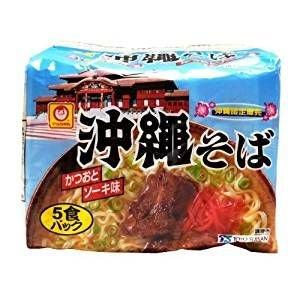 マルちゃん沖縄そば かつおとソーキ味 5食パック×2