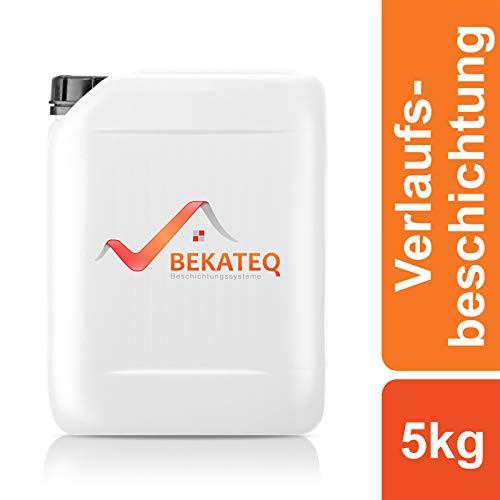 BEKATEQ 2K Epoxidharz Bodenbeschichtung BK-500EP - RAL7001 Silbergrau - 5KG