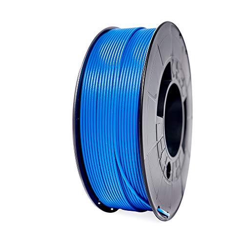 Winkle Filamento PLA HD, 1.75 mm, Azul Pacifico, Filamento para Impresión 3D, Bobina 1000 gr