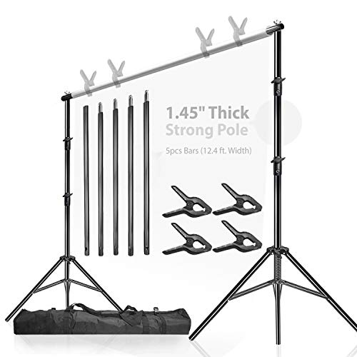 LimoStudio, Backdrop Muslin Support Structure System Strong and Stable