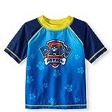 Toddler Boys Paw Patrol Rash Guard Swim Shirt Top (2T) Blue