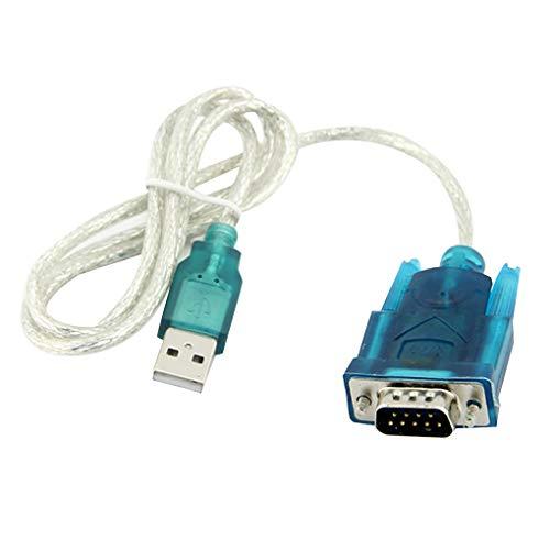 Fornateu USB-RS232 Serial Port 9 Pin DB9 Kabel seriellen COM-Port-Adapter-Konverter-Buchse Adapter