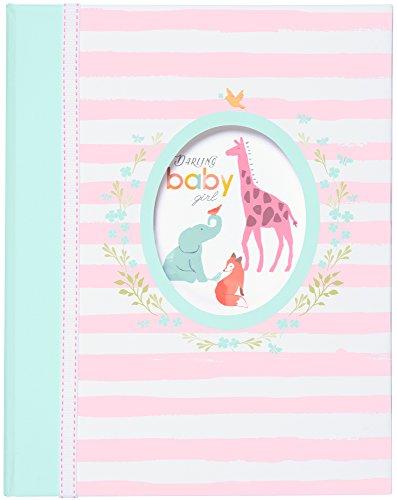 C.R. Gibson Baby Memory Book - Darling Baby Girl