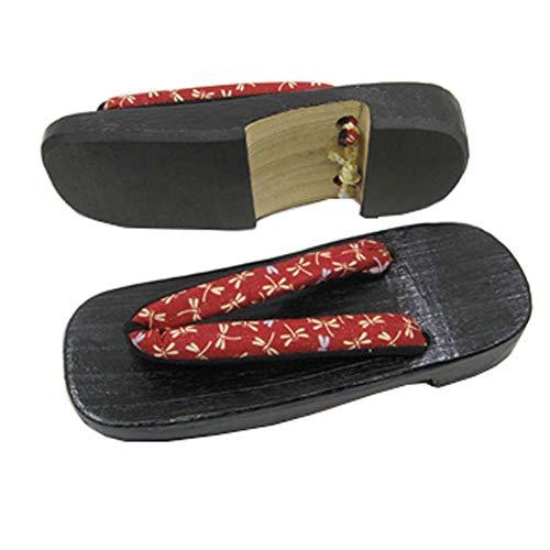 Geta Holzschuhe im japanischen Stil mit Sandalen, Ninja, Flip-Flops, Hausschuhe für Herren, G-08