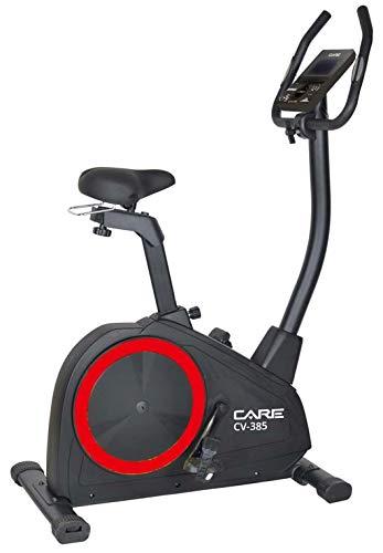 CARE FITNESS - Vélo d'Appartement CV-385-24 Programmes d'Entraînement - Masse d'Inertie 10kg - Résistance Magnétique à 16 Niveaux - Connectivité Application Kinomap