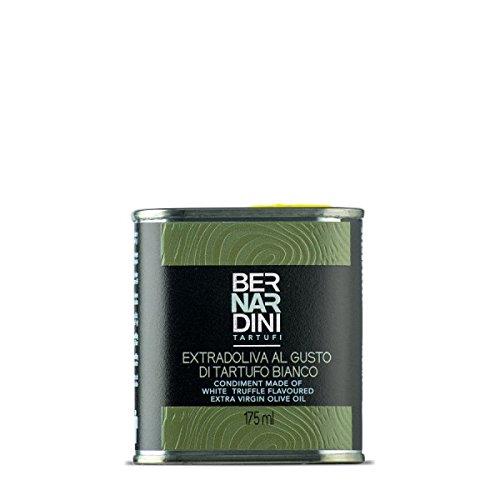 Olio extravergine di oliva al tartufo bianco, latta 175ml - Bernardini Tartufi