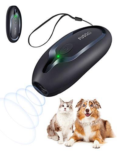 Dispositivo antiladridos para perros, Ultrasónicos Ahuyentador de Perros de mano, herramienta anti ladridos recargable alcance efectivo de 5m, Antiladridos para perros pequeños y grandes al aire libre