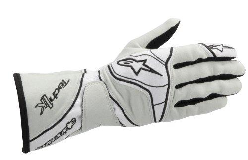 Alpinestars Autoracing Handschuhe, Grau/Weiß, S