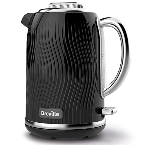 Breville VKT090 Flow Electric Kettle, 1.7 L, 3 KW Fast Boil, Bl