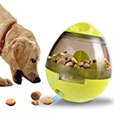 GXD Cane Giocattoli educativi Animali Domestici Divertente Bicchiere Cibo Che perde Palla Cane Dispenser spuntino Bicchiere Interactive Design spuntino erogazione Palla per Cani e Gatti Giocattoli