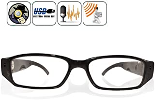 1280x 720HD 30fps espía Eyewear cámara oculta Mini DVR Gafas con TF ranura por Online-Enterprises