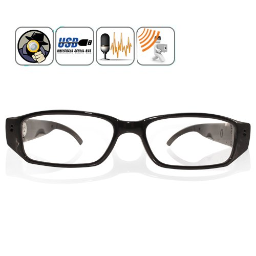 1280x720 HD 30fps Spy lunettes lunettes caméra cachée Mini...
