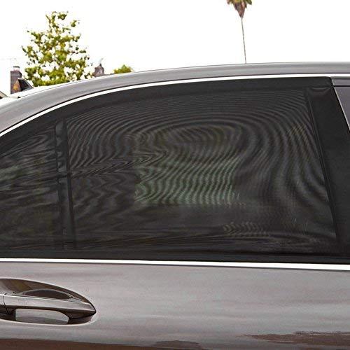 Atyhao - 1 paio di tende di protezione per auto, rete permeabile all'aria, per finestrini auto