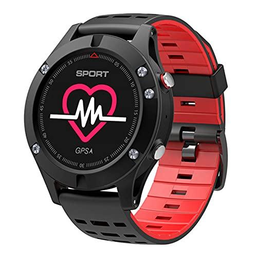 F18 Smart Watch Outdoor GPS Touch Bluetooth Pulsera Larga Standby Compass Pantalla 3D Pulsera Pulsera Deportes Monitor De Ritmo Cardíaco,C