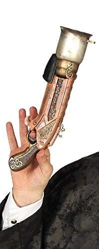 This boys or girls steampunk rifle is the perfect finishing touch to any costume! 33cm Brand New