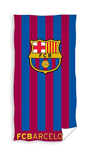 Barcelona - Toalla de baño, Toalla de Playa, algodón, diseño del FC Barcelona