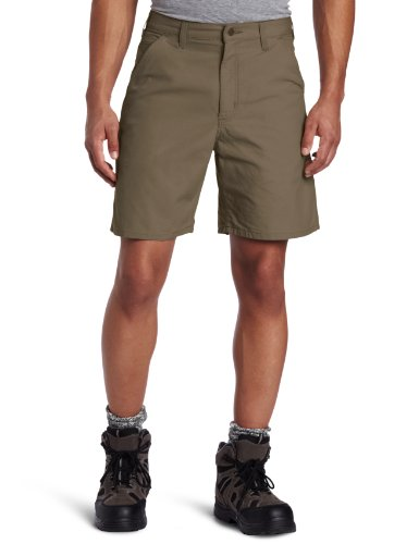 Carhartt Men's Canvas Utility Work Short B144,Light Brown,30