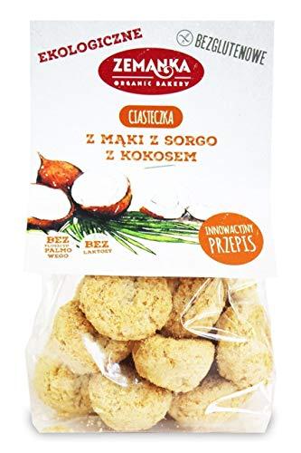 Galletas de harina de sorgo con coco (sin gluten) BIO 100 g