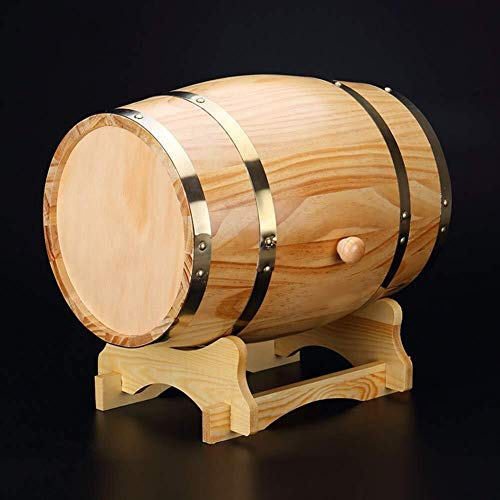 Juego de Jarras y Vasos de Whisky Personalizada barril del whisky, no grabada del barril de vino, personalizada Roble 2 Litros Barril, Barril Diseño Envejecido, decoración de la tabla del barr