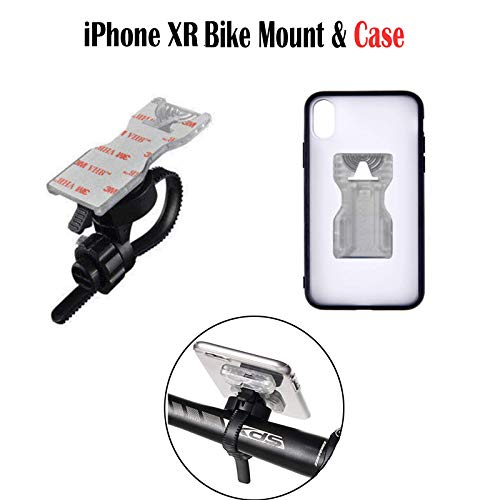 Calmpal iPhone XR Bike Cell Phone Mount with Riding Case.Motorcycle Bike Handlebar Mount Cell Phone Holder with Riding Cycling Case for iPhone Xr (6.1 inch)