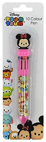 Tsum Tsum Bolígrafo de 10 colores