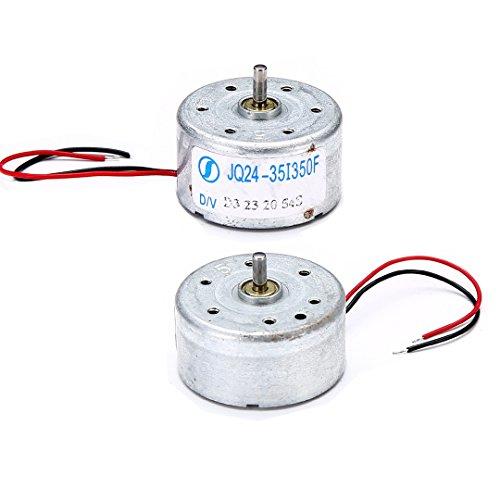 2 Stück Solar Mikromotor 300 3V - 6V für Wissenschaftliche Hobby Spielzeugauto