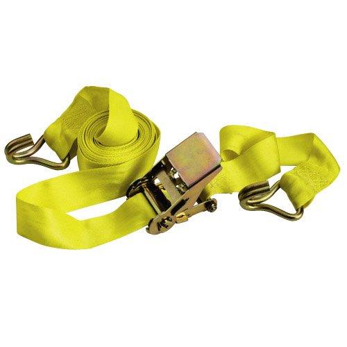 Wolfpack 15030260 spanband met ratel voor het vastzetten, beveiligen en transporteren van voorwerpen in de bagagedrager, 50 mm x 6 m