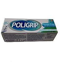 Poligrip Fixative Denture Cream Flavour Free 40g by Poligrip