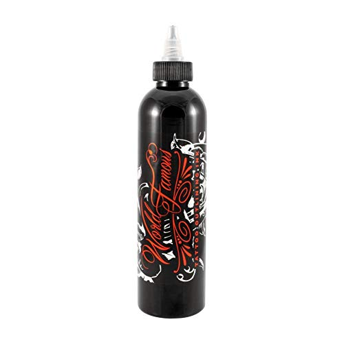 World Famous Tattoo Ink - Black Outling Ink - 8oz