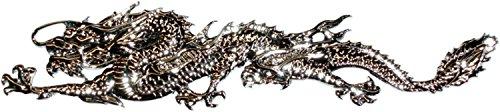 carstyling XXL Relief-Chrome-Tattoo Dragon ~ schneller Versand innerhalb 24 Stunden ~