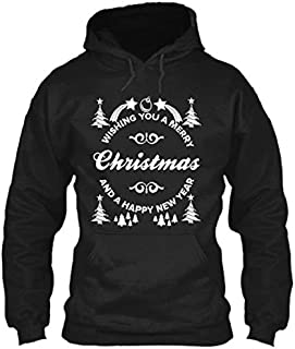 WISHING A MERRY CHRISTMAS DAY SHIRT, Cute Christmas Sweatshirt, Christmas Tree, Christmas Outfit, Christmas shirt, Pullover Hoodie