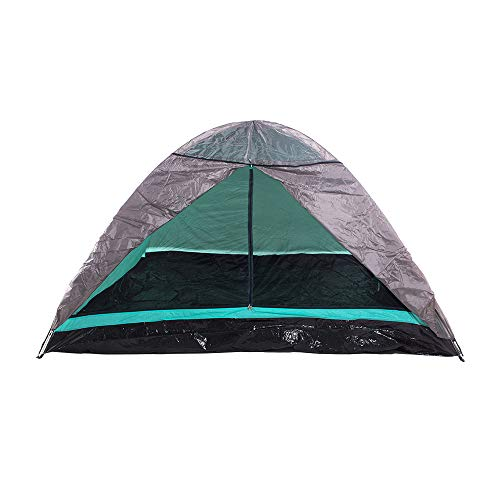 Barraca Camping Dome 6 Premium com Cobertura Bel Fix Verde/Cinza