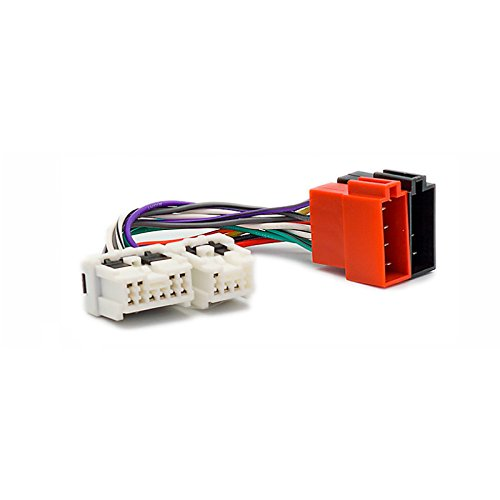 CARAV 12-120 ISO F-Cabel. Radio Adapter para Almera Micra Murano 350Z Patrol X-Trail Pathfinder