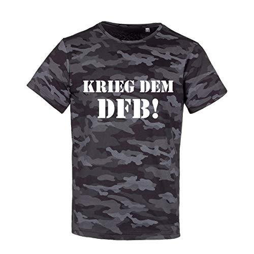 Volkspark Hamburg Streetwear Shirt Camouflage Dark DFB1.0 W Camouflage S