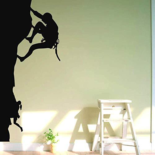Adesivo Murale Arrampicata In Montagna Sport Adesivo Murale Decorazioni Fai Da Te Vinile Wall Art Adesivi Murali Arrampicata Su Roccia Taglio Arrampic