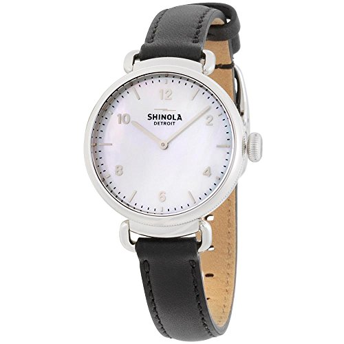 Shinola The Canfield Quartz Movement Mother of Pearl Dial Ladies Watch 20018680