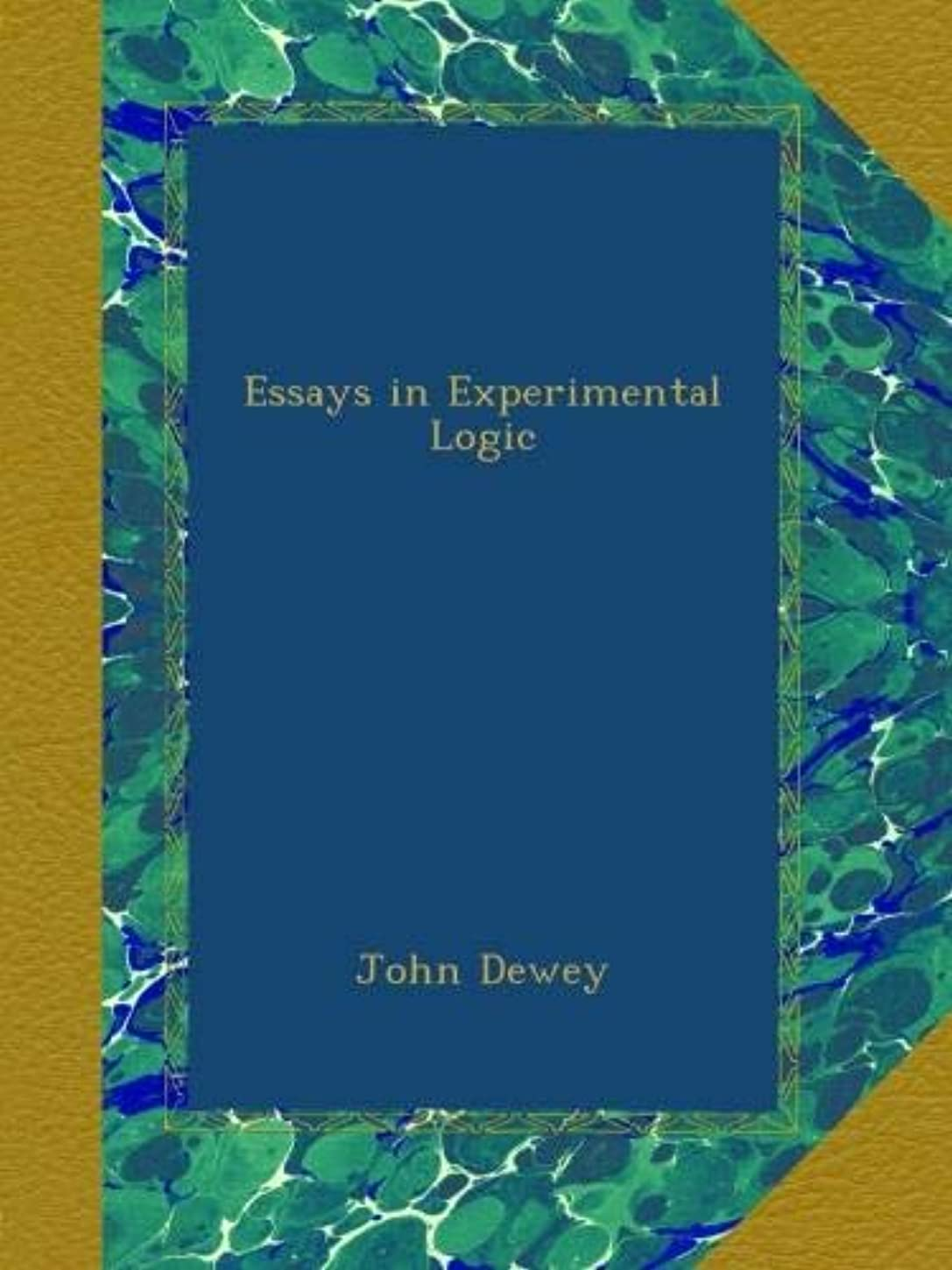 減る回復する病なEssays in Experimental Logic