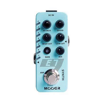 Alician Mooer E7 Synthetik-Effektpedal für E-Gitarre