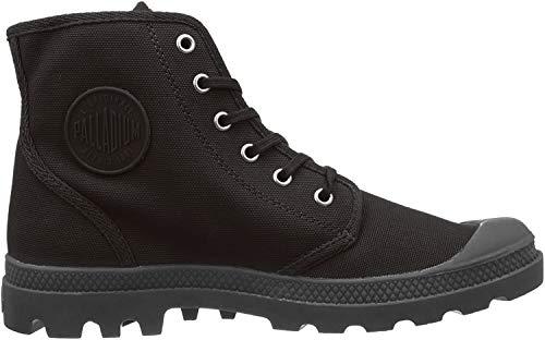 Palladium Unisex-Erwachsene Pampa Hi Originale Hohe Sneaker, Schwarz (Black/Black), 47 EU